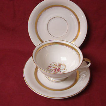 Rosenthal China Dinnerware Winifred Germany, # 697/89 1 Cup 2 saucer