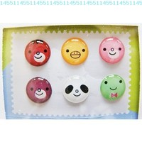 """""""Home"""" Button Sticker for iphone/ipad/itouch, Smile, 6 Stickers (Group sale 1):Amazon:Cell Phones & Accessories"""
