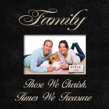 FAM/WE Family Picture Frame, Family Photo Frame, Family Gift, Family Reunion, Anniversary Gift, Housewarming Gift, Gift for Mom and Dad