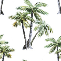 Tropical Palms Removable Wallpaper