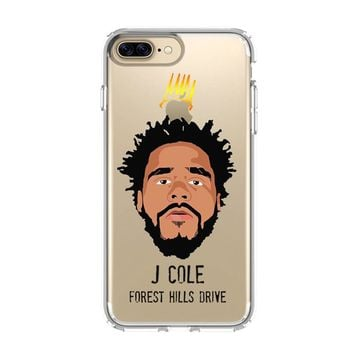FOREST HILLS POP J COLE iPhone and Samsung Galaxy Clear Case