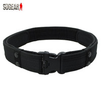 2 Inch Airsoft Military Tactical Belt Unisex Durable Canvas Material Hunting Outdoor Utility Adjustable Waistband Free Shipping