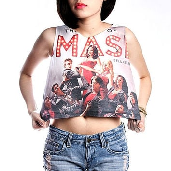 Smash Musical Shirt T-Shirt Tank Top Women Crop Tops Size S M L