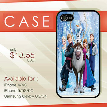 Disney phone case Disney frozen case custom design available for iphone 4/4s,5/5s/5c and samsung galaxy S3/S4/S5 case