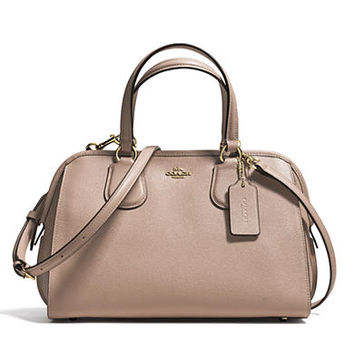 COACH CROSSGRAIN LEATHER NOLITA SATCHEL - Belk.com