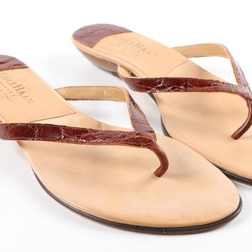 Genuine Croc Cole Haan Sandals