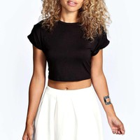 Tianna Box Pleat Colour Pop Skater Skirt