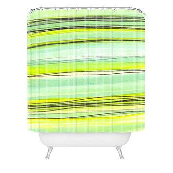 Sophia Buddenhagen Shoreline Shower Curtain