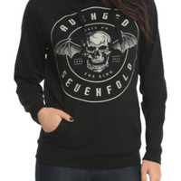 Avenged Sevenfold Hail To The King Tour Girls Hoodie 2XL
