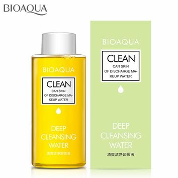 150ML Make Up Remover Deep Cleansing Water Face Cleansing Makeup Removing Oil for Eye Lip Face Cleanser Gentle Zero Stimulation
