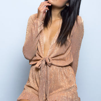 Lydia Shimmer Playsuit