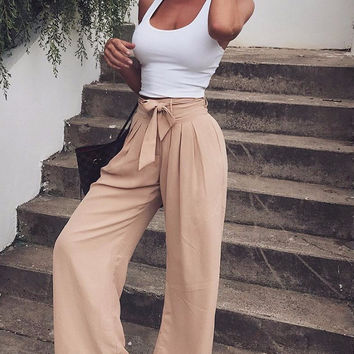 Diane Fit & Flare Trousers