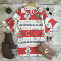 Aztec Horizon Dress