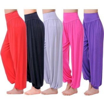 ONETOW New Fashion Neon Color Patchwork Women's Yoga Sports Leggings Stretch Tights Pants = 1932660100