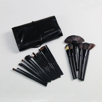 Hot Deal On Sale Make-up Hot Sale 24-pcs Black Beauty Tools Set Make-up Brush [6048379329]