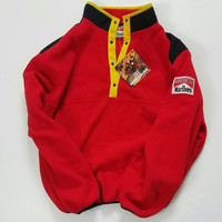 Marlboro Fleece Jacket Size XL, Marlboro Man Fleece Coat, Adventure Team Fleece