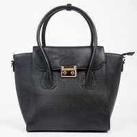 Large Structured Handbag