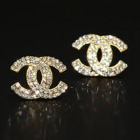 Chanel fashion women's letter fashion feminine earrings