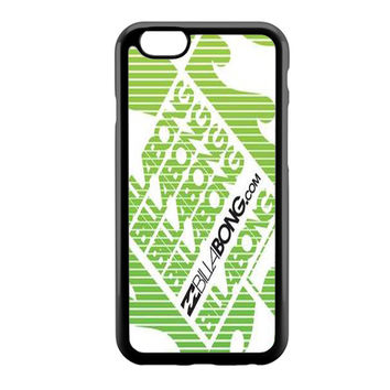 billabong green white iPhone 6 Case