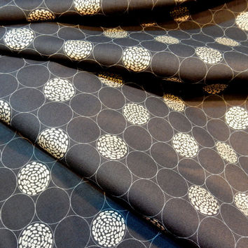 Indigo Circles Shimmer 2 by Jennifer Sampou Robert Kaufman Fabric per Half Yard