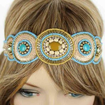 Seed Bead Fashion Headband