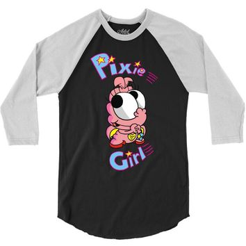 pixie girl 3/4 Sleeve Shirt