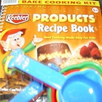 Keebler Products No Bake Cooking Kit & Recipe Book