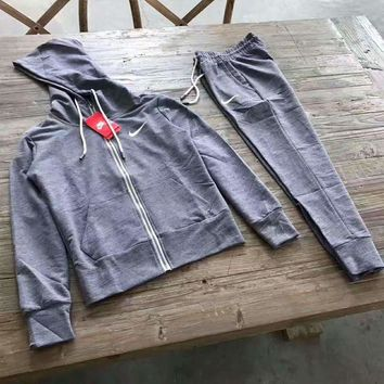 ONETOW Day-First? NIKE WOMEN Fitness yoga clothing Two piece suit Hooded sweater sportswear H-A-GHSY-1