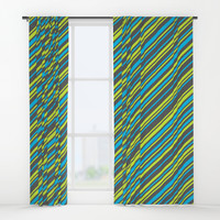 Stripes Window Curtains by edrawings38