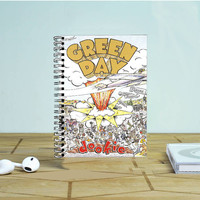 Green Day Dookie Photo Notebook Auroid