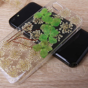 iPhone 6 case iPhone 6 plus Pressed Flower, iPhone 5/5s case, iPhone 4/4s case, 5c case Galaxy S4 S5 Note 2 note 3 Real Flower case NO:F508