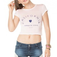 Brandy ♥ Melville |  Carolina Paradise Cove Top - Just In