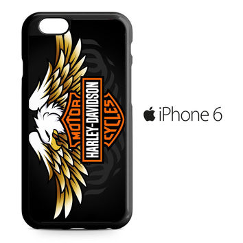 Harley Davidson Eagle Logo iPhone 6 Case