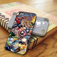 Marvel All Character Super Heroes | For iPhone 5/5S Cases | Free Shipping | AH1203