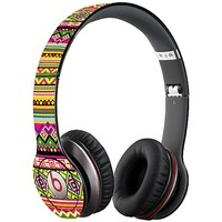 Happy Bright Tribal Skin  for the Beats Solo HD by skinzy.com