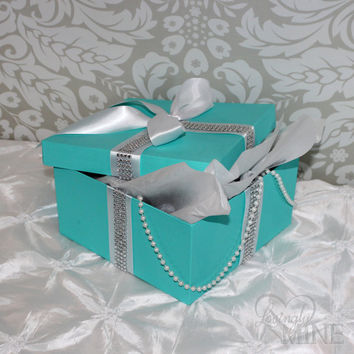 centerpiece tiffany co inspired bling box from lovinglymine on rh wanelo co