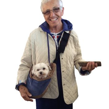 Small Cross Body Pet Carrier