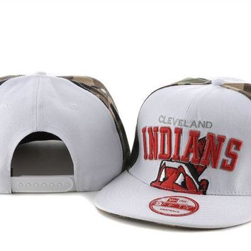 Cleveland Indians 3 Cap Snapback Hat - Ready Stock