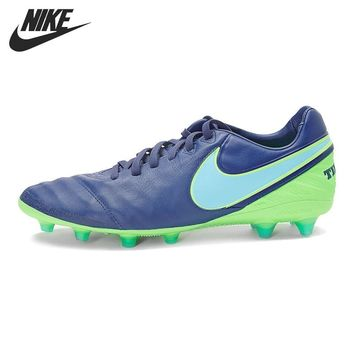 Original New Arrival NIKE TIEMPO LEGACY II AG-PRO Men's Football Shoes Soccer Shoes Sneakers