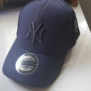 New York Yankees NY Cap Men Women Unisex Navy Baseball Cap