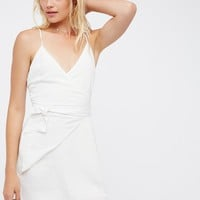 Free People Turismo Wrap Dress