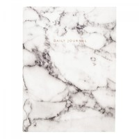 Urban Outfitters White Marble Daily Journal | Notebooks | Stationery | Ohh Deer