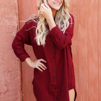 Best Of Me Shirt Dress