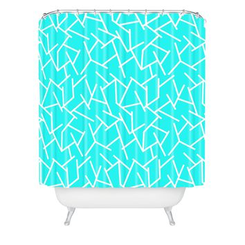Holli Zollinger Ocean Shower Curtain
