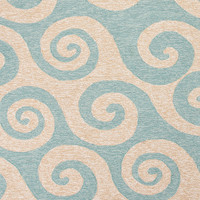 Coastal Living Collection Wave Hello Rug in Cameo design by Jaipur