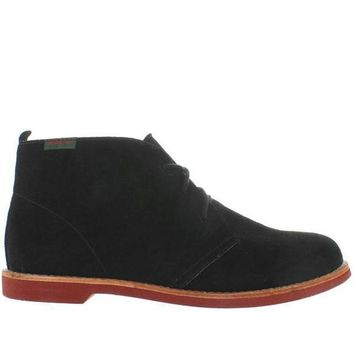 ESBONIG Bass Elspeth - Black Suede Chukka Boot