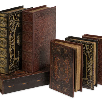 Monte Cassino Book Box Collection Set of 6