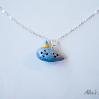 Legend of Zelda Ocarina of Time Inspired Necklace