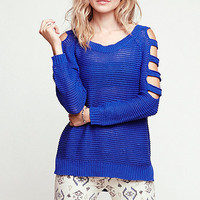 Nollie Cut Out Sleeve Pullover Sweater at PacSun.com
