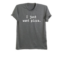 Unisex graphic tees for teens shirts pizza tshirt tumblr t shirts tops pizza apparel clothes funny t-shirts fresh tops size XS S M L